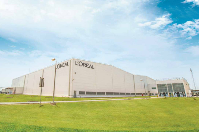 L'Oréal Cosmetics & Health Care Products Plant